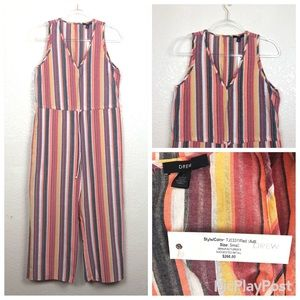 DREW | Anthropologie Striped Jumpsuit sz S